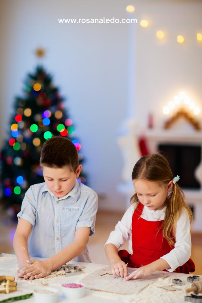 entretener a los niños en navidad
