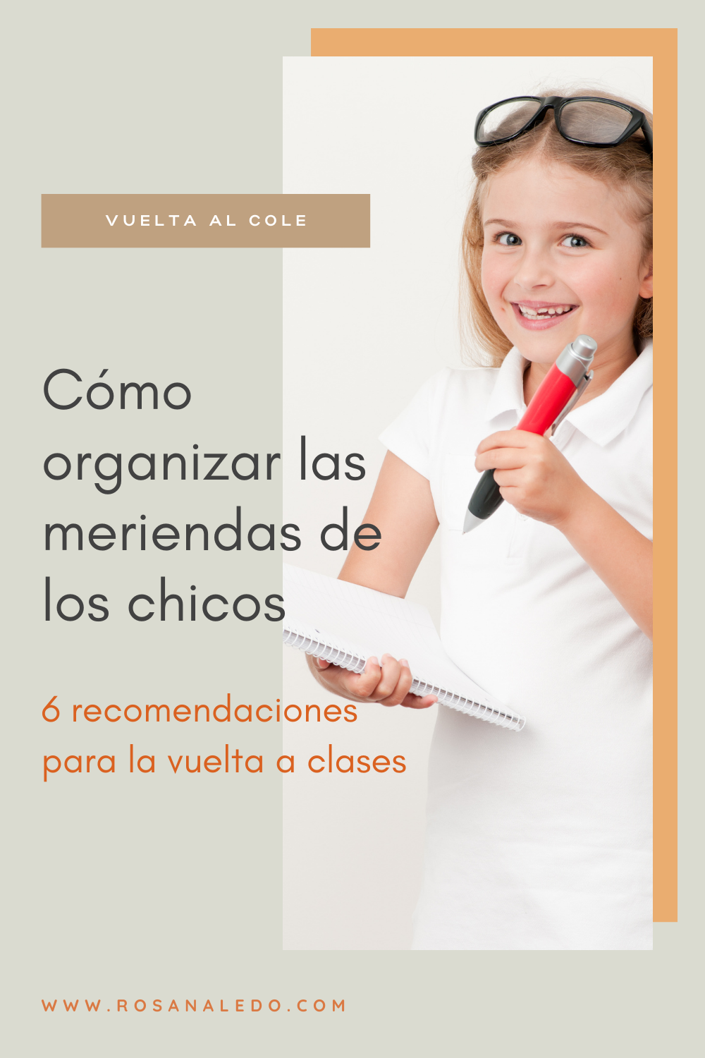 rosana ledo batch cooking vuelta al cole